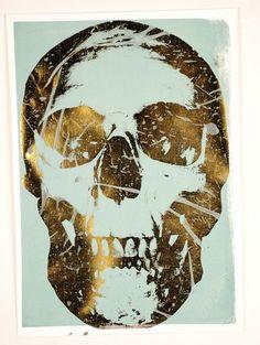Fancy - Mystery Skull Screen Print