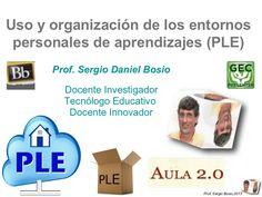 Uso y organización de los ple  aula 2.0