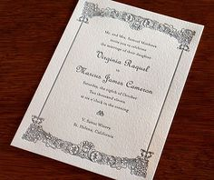 Gorgeous 200+ Elegant Wedding Invitations That You Are Looking For Check more at http://lucky-bella.com/200-elegant-wedding-invitations-that-you-are-looking-for/