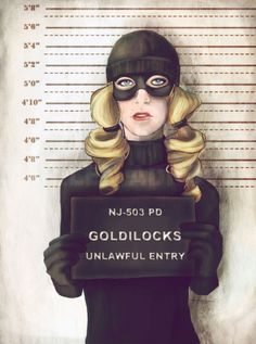 Spain-based illustrator Marilen Adrover Fairytale Princess Mugshots Are Both Alarming And Totally Awesome