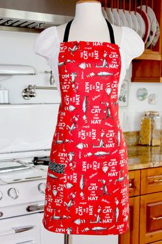 Cat in the Hat Apron