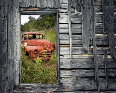 Oldtimer - Open window