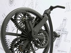 A clockwork bike?