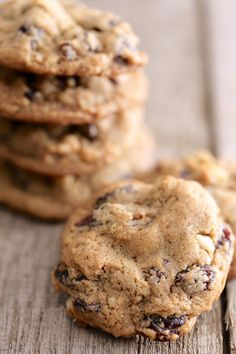 Hermit Cookies - An old fashioned fruit and nut cookie, made vegan! #cookies #raisins #vegan