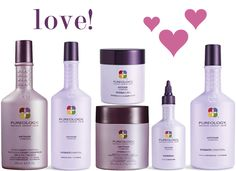 Pureology Hydrate system my favorite hair products because they are 100% vegan