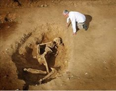 More Nephilim - Anunnaki Ancient Giants SKELETONS Discovered in Egypt. Genesis giants in the land of ancient Egypt. - More Nephilim - Anunnaki Giants Discove. Ancient Aliens, Ancient Egypt, Ancient History, Human Giant, Nephilim Giants, Nephilim Bones, Giant Skeleton, Genesis 6, Pseudo Science