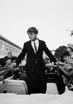 Bobby Kennedy Campaigning in California, 1966