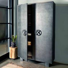 kluiskast metaal - Google Zoeken Tall Cabinet Storage, Locker Storage, Lockers, Display, Furniture, Google, Home Decor, Floor Space, Decoration Home