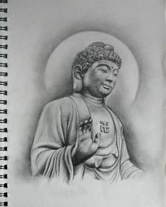 Budha Sketch by sepaha on DeviantArt