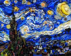 This Artist is Crushing Plastic by Recreating Famous Works of Art out of Found Plastics