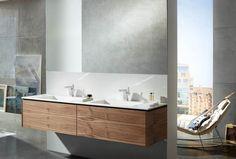Hansa Loft ultra-modern washbasin faucet with #side #handle