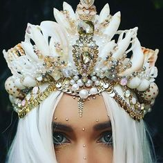 Image result for diy mermaid crown