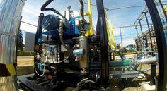 Pregopontocom @ Tudo: Petrobras inaugura primeira Estação de Tratamento ...  O sistema conta com tecnologia de ponta para converter parte do resíduo do processamento de petróleo em matéria prima recuperada para a produção de diesel e gasolina, além de sólidos para injeção no coque (derivado usado na construção civil e combustível industrial).