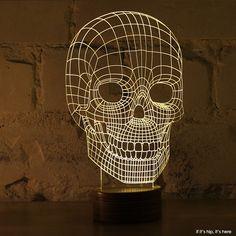 Skull led lamp IIHIH