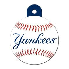 Quick-Tag New York Yankees MLB Personalized Engraved Pet ID Tag