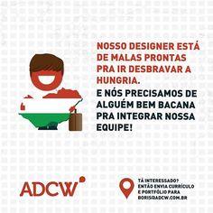 Vaga para designer na ADCW.