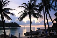 Koh Phangan, White Sand Beach, Sunrise, Thailand, Swimming, Amazing, Water, Places, Outdoor