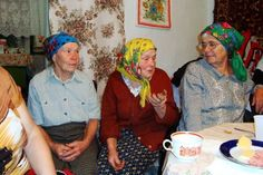 Sweet little Ukraine grandmas