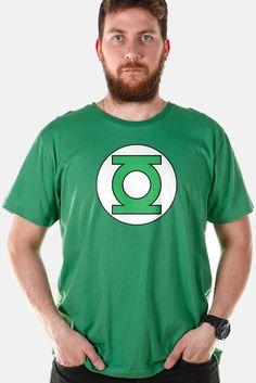 Eu recomendo Camiseta Masculina Lanterna Verde Logo via Myreks