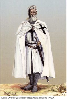 The Großgebietiger were high officers with competence on the whole Teutonic Order, appointed by the Hochmeister.