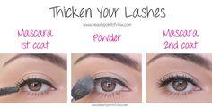 Diese unglaublichen Schönheitstipps musst du unbedingt ausprobieren - Augenwimpern verdicken in drei Schritten