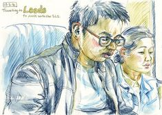An Illustrator's Life For Me!: How to Draw People: Sketching in Public Places