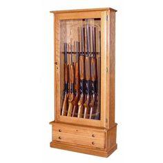 Unique 12 Gun Cabinet Dimensions