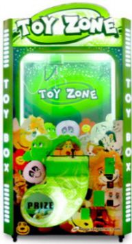 Toy Zone Crane Redemption Game   | From LAI Games  |   Get more information about this game at: http://www.bmigaming.com/games-catalog-laigames.htm