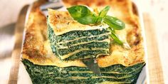 Lasagnes florentines Spaghetti Recipes, Pasta Recipes, Vegetarian Main Course, Food Tags, Happy Foods, Veggies, Tasty, Zucchini, Healthy Recipes