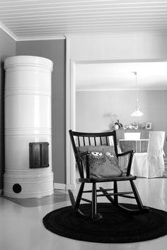 50-luvun talon helmiä: pönttöuuni   Tuulentupa