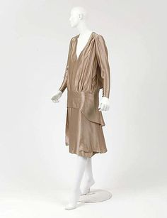 Afternoon Dress, Attributed to House of Chanel, French, c.1928, The Metropolitan Museum of Art, New York