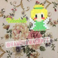 Tinker Bell hama beads by hamuhamacraft