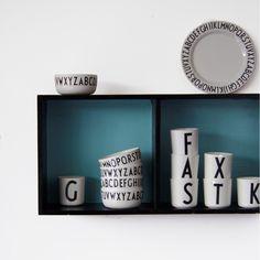 Design Letters beker melamine
