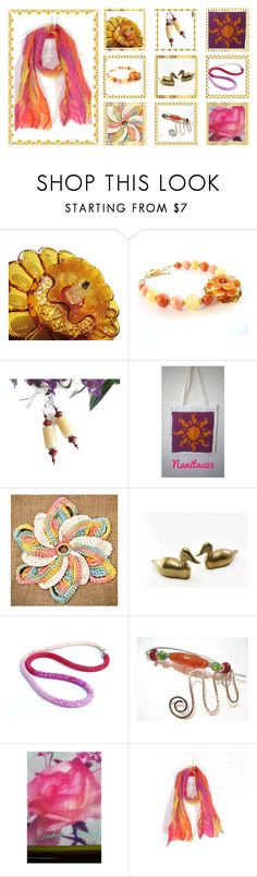 """Bright Ideas"" by fibernique ❤ liked on Polyvore featuring vintage"