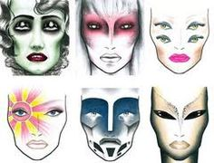 halloween makeup ideas for women -