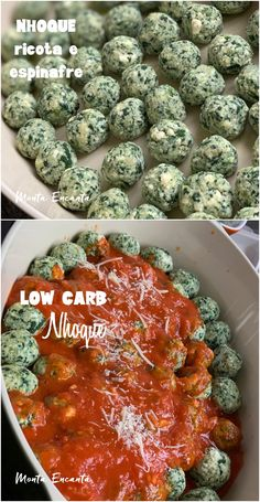 Nhoque LOW CARB e sem gluten, de ricota com espinafre! Low Carb Recipes, Vegetarian Recipes, Healthy Recipes, Healthy Foods, Clean Eating Snacks, Healthy Eating, Best Diet Drinks, Comida Keto, Fat Burning Foods