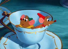 Jack et Gus, les 2 héros de Cendrillon,  www.animaute.fr