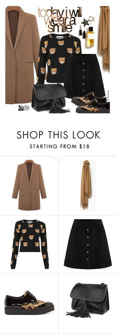 """Fall Street Style"" by beebeely-look ❤ liked on Polyvore featuring MANGO and Pierre Hardy"