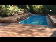 Hidden Swimming Pools, Hidden Pool, Above Ground Swimming Pools, Pool Ideas, Jessie, Yard, Patio, Outdoor Decor, Youtube