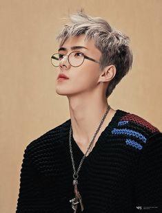 Idk if this is fanart or Sehun is just THAT beautiful Kpop Exo, Chanbaek, Exo Ot12, Chanyeol Baekhyun, Park Chanyeol, Kai, K Pop, Seoul, Oppa Gangnam Style