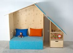 Kinkeli Play House - would love one of these in 'big kid' size!