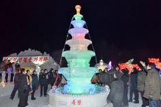 혁명의 성지에 황홀경을 펼친 얼음조각축전