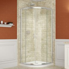 "Found it at Wayfair.ca - Prime Frameless 36"" x 36"" x 74.75"" Curved Sliding Shower Enclosure"