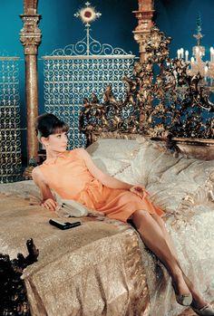 """vintagegal: """" Audrey Hepburn in Paris When It Sizzles (1964) """""""