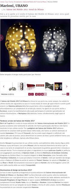 Press release on URANO designed by Simone Micheli for Marioni #marionisrl #simonemicheli #platinum #gold  #ceramic