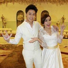 On screen Kim and Mark wedding Mark Prin, Love Story, Netflix, Addiction, Idol, Collections, Couples, Cute, Wedding