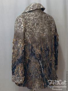 """Пиджаки, жакеты ручной работы. Ярмарка Мастеров - ручная работа Жакет """" Киммерия"""" войлок. Handmade."""