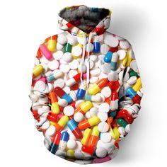 Pills Hoodie from Beloved Shirts