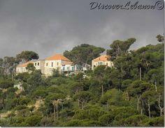 Lebanon, Dhour Choueir houses