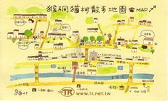 Travel and Trip infographic Houtong is a village near Taipei City know for the hundreds of cats that roam the streets. Infographic Description Houtong is Free Infographic, Infographics, North Asia, Dear World, Local Map, Map Projects, The Hundreds, Map Design, Travel Maps